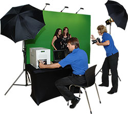 Go11 Events Greenscreen GreenScene in action